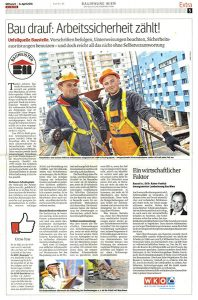 Arbeitssicherheit-Presseartikel